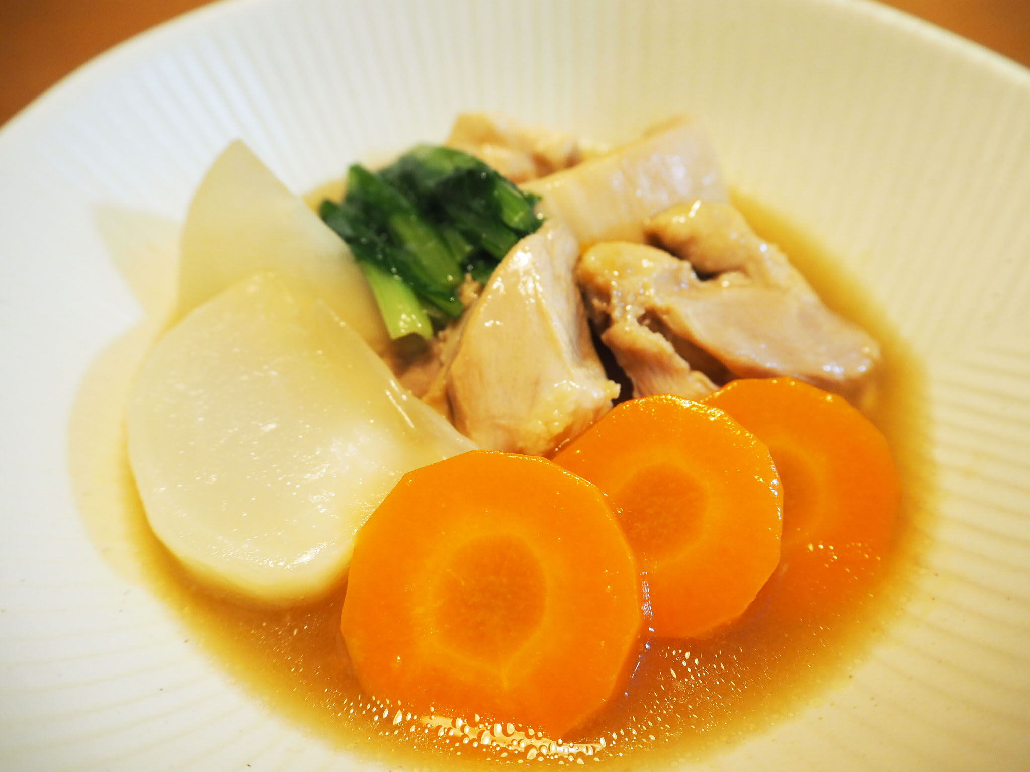 鶏肉とかぶの治部煮