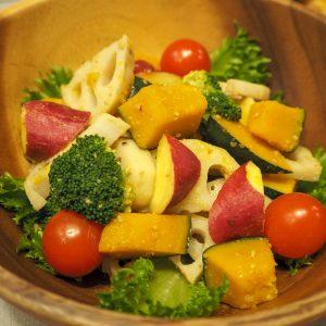 根菜の甘酢ホットサラダ